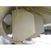 Баллер руля левого (БМК90М-У11-27/А БМК130М-213-001) и правого (БМК90М-У11-28/А БМК-130М-213-001)  борта с пером