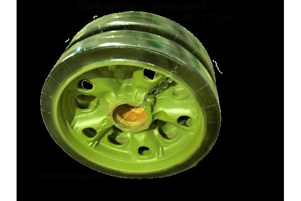 Диск колеса с грузошиной 401.12.3Сб-3